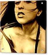 Miss Gidget Acrylic Print