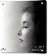 Miss Katherine Acrylic Print by Arne Hansen