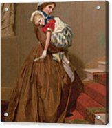 Miss Lilys Return From The Ball, 1866 Acrylic Print
