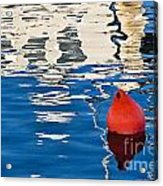 Miss Pattie Reflections Acrylic Print