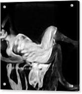 Miss Shapen Chase Acrylic Print