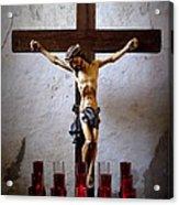 Mission Concepcion - Crucifixion Acrylic Print