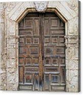 Mission Concepcion Door  Acrylic Print