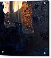 Mission Door At Sunset Acrylic Print