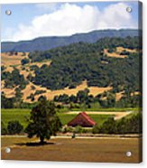 Mission Meadows Solvang California Acrylic Print