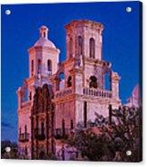 Mission Moon Glow Acrylic Print