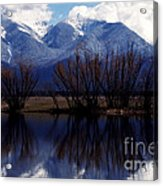 Mission Mountains Mission Valley Acrylic Print