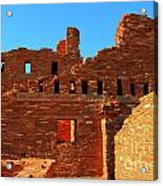 Mission Ruins At Abo Acrylic Print