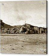 Mission San Antonio De Padua California Circa 1903 Acrylic Print