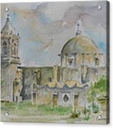 Mission San Jose Acrylic Print
