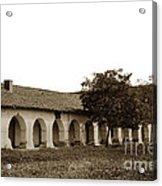 Mission San Juan Bautista San Benito County Circa 1905 Acrylic Print