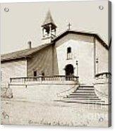 Mission San Luis Obispo Circa 1890 Acrylic Print