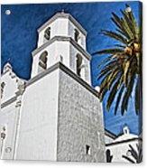 Mission San Luis Rey - California Acrylic Print