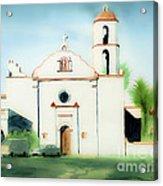 Mission San Luis Rey Dreamy Acrylic Print by Kip DeVore