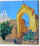 Mission San Xavier Acrylic Print