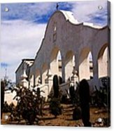 Mission San Xevier Del Bac Acrylic Print