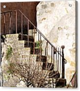 Mission Stairs Acrylic Print