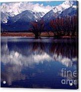 Mission Valley Montana Acrylic Print