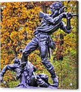 Mississippi At Gettysburg - Desperate Hand-to-hand Fighting No. 5 Acrylic Print