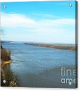 Mississippi Overlook Trail  Of Tears Acrylic Print