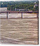 Mississippi River At I-72 Acrylic Print