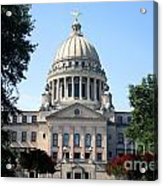 Mississippi State Capitol Downtown Jackson Acrylic Print