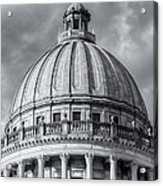 Mississippi State Capitol Viii Acrylic Print by Clarence Holmes