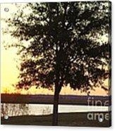 Mississippi Sunset 12 Acrylic Print