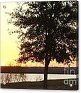 Mississippi Sunset 13 Acrylic Print