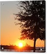Mississippi Sunset 4 Acrylic Print