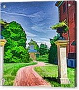 Missouri Botanical Garden Pathway Acrylic Print