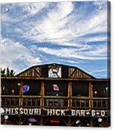 Missouri Hick Bbq Acrylic Print