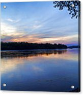 Missouri River Blues Acrylic Print