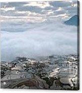 Mist And Cloud Acrylic Print