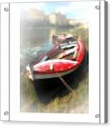 Mist On The Arno Poster Acrylic Print