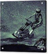 Scary Split-second At Sixty Mph Acrylic Print