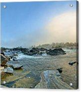 Mists Of Great Falls Acrylic Print
