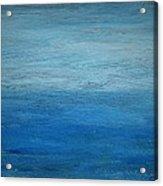 Misty Beach Acrylic Print