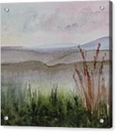 Misty Day In Nek Acrylic Print