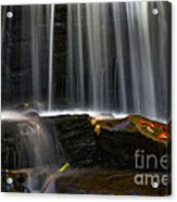 Misty Falls Acrylic Print