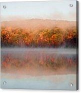 Misty Foilage Acrylic Print