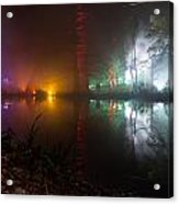 Misty Light Reflections Acrylic Print