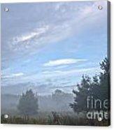 Misty Monday Acrylic Print