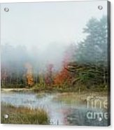 Misty Morning Maine Acrylic Print