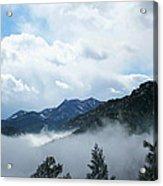 Misty Mountain Colorado Acrylic Print