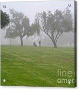 Ghostly Mist Acrylic Print