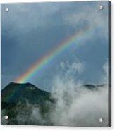 Misty Rainbow Acrylic Print