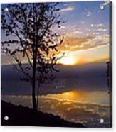 Misty Reflections Acrylic Print