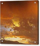 Misty Sunset Acrylic Print