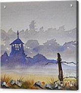 Misty Watercolors Acrylic Print